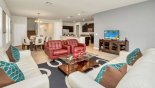 Tahiti 2 Villa rental near Disney with Family room with sofa seating for 6 & 2 additional armchairs
