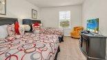 Tahiti 2 Villa rental near Disney with Bedroom #4 with twin beds