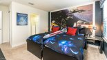 Star Wars themed Twin Bedroom 6 with 2 twin beds - www.iwantavilla.com is your first choice of Villa rentals in Orlando direct with owner