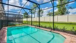 Orlando Villa for rent direct from owner, check out the View of west facing pool with no rear neighbours