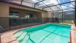Villa rentals in Orlando, check out the Covered lanai provides welcome shade