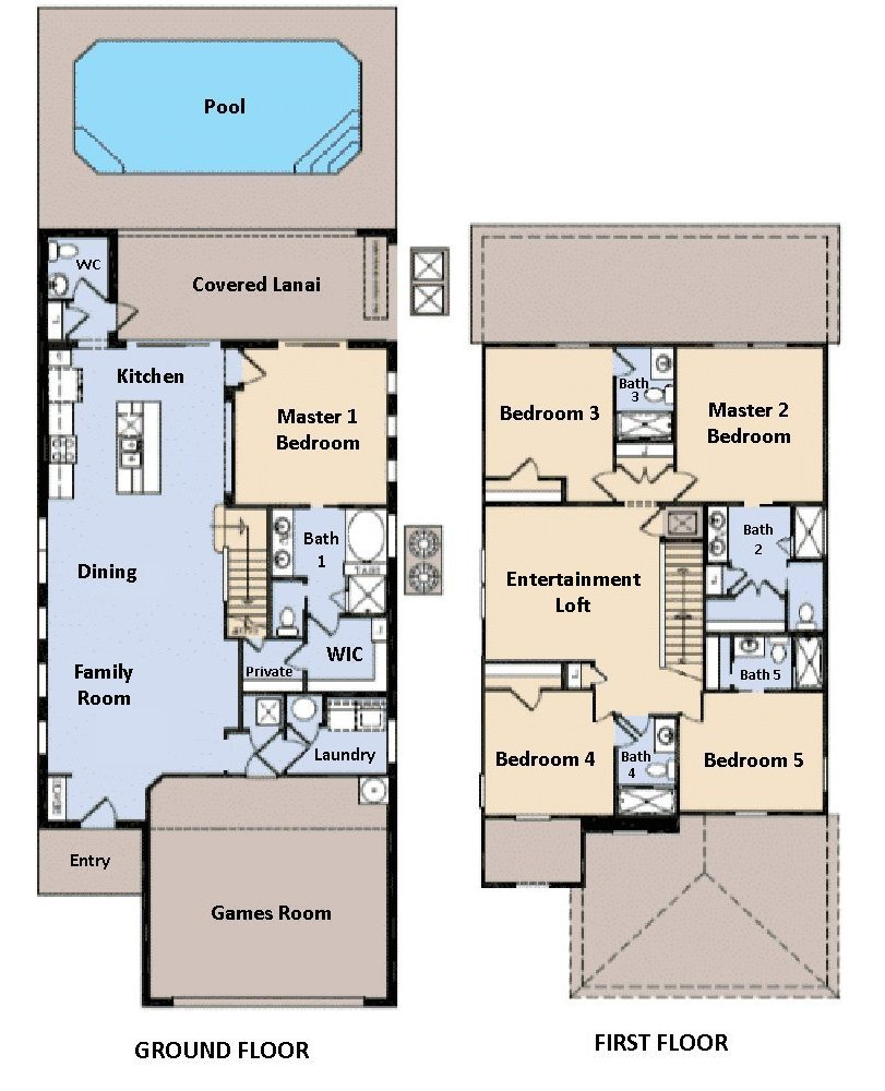 Lakeshore 2 Floorplan