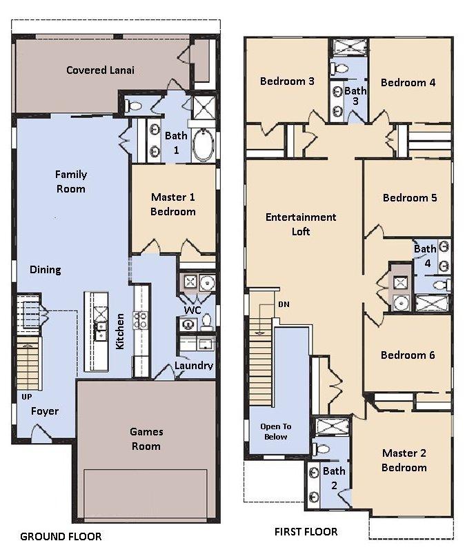 Hideaway 2 Floorplan