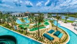 View of Storey Lake community pool & water park from Milan 5 Condo for rent in Orlando