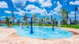 Condo rentals in Orlando, check out the Kids splash pad - safe for toddlers