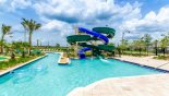 The kids will love the water slides - www.iwantavilla.com is your first choice of Condo rentals in Orlando direct with owner
