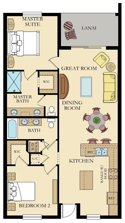 Milan 5 Floorplan