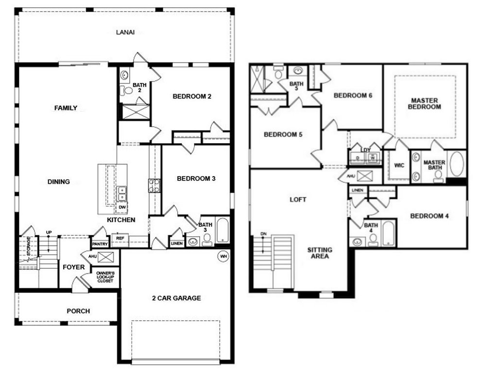 Tahiti 3 Floorplan
