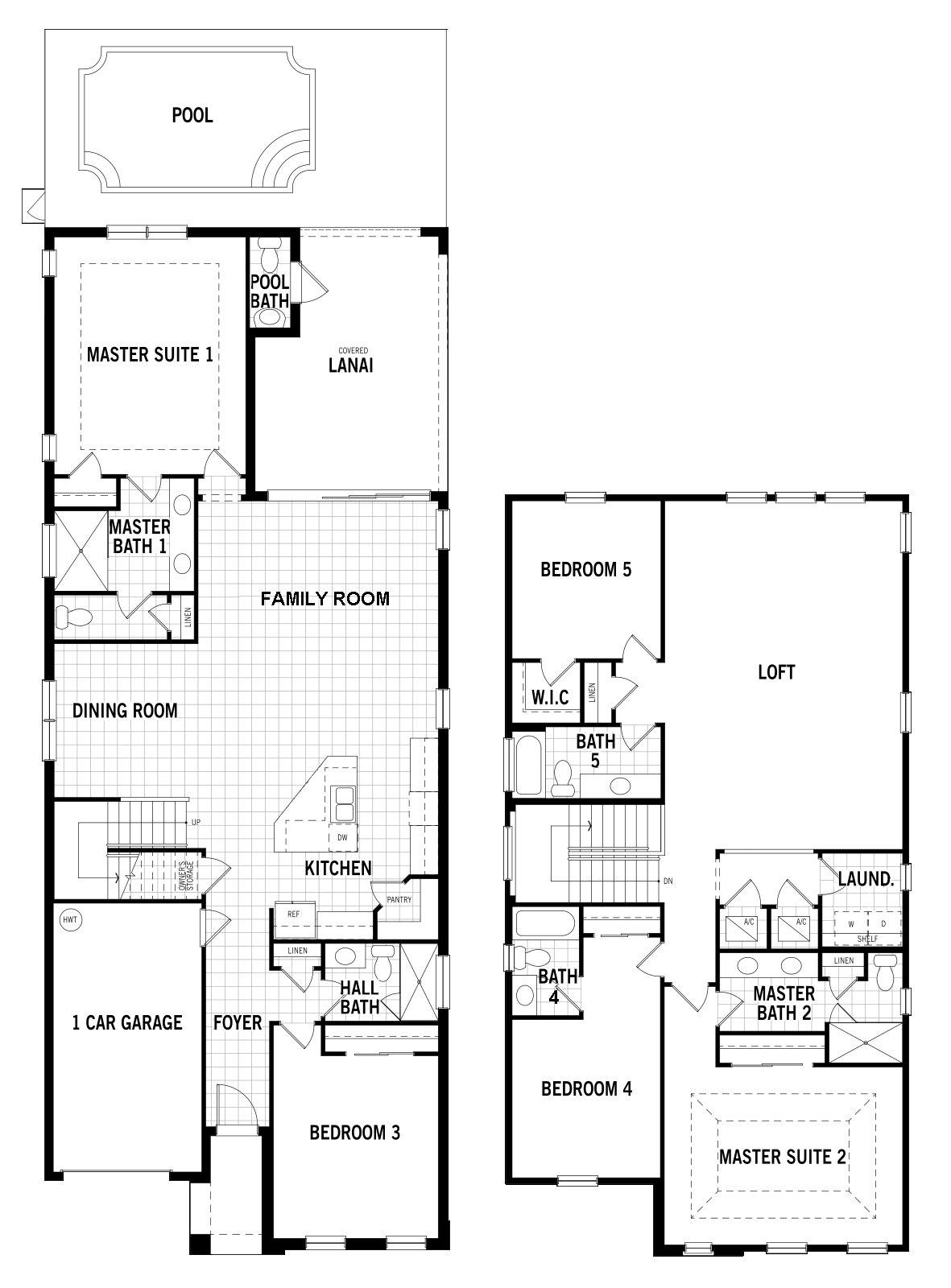 Malibu 1 Floorplan
