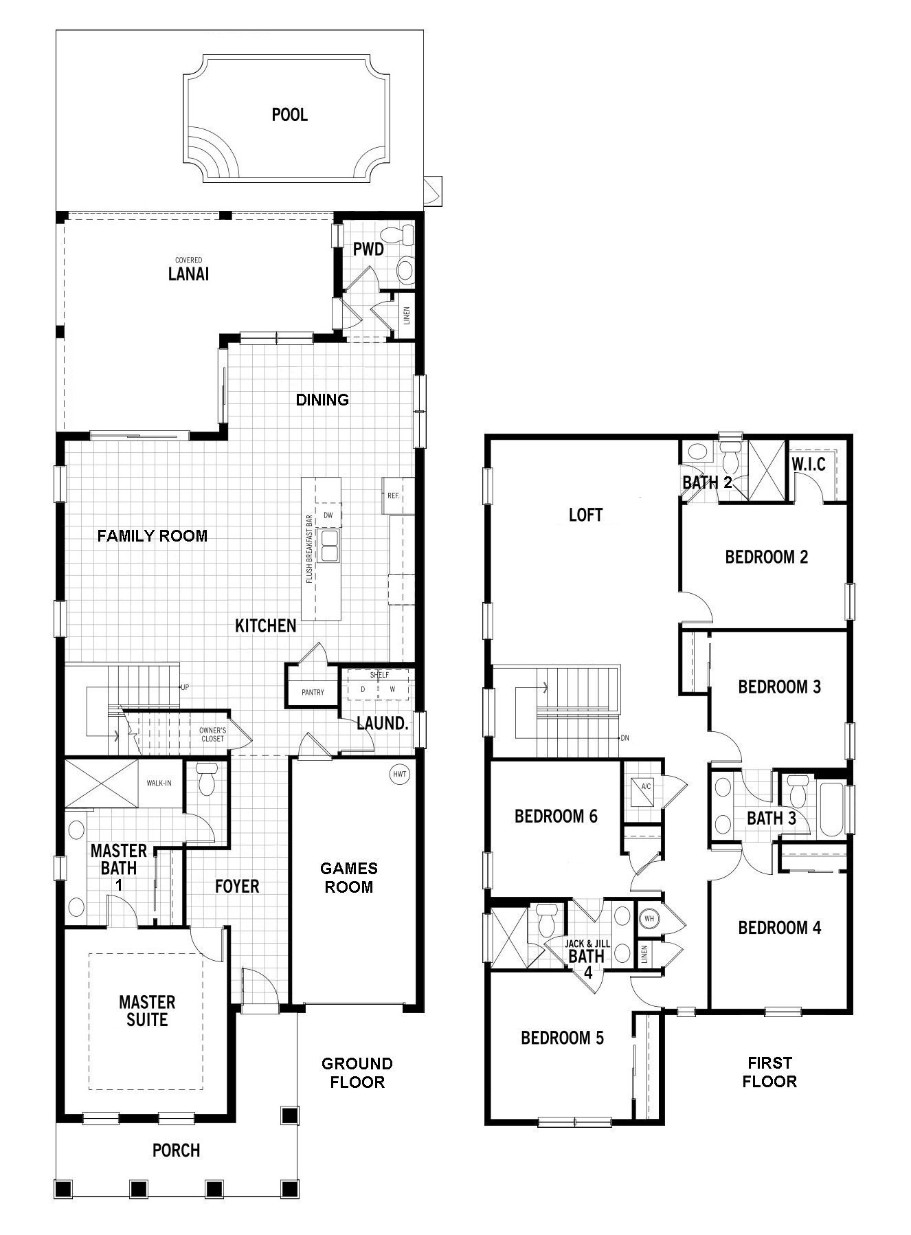 Laguna + 1 Floorplan