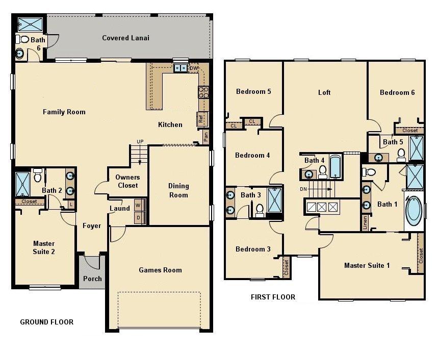 Fiji 9 Floorplan