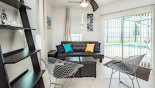 Villa rentals near Disney direct with owner, check out the Study / den with views and direct access onto pool deck