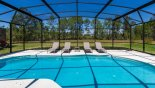 Naples Beach 2 Villa rental near Disney with Large extended pool deck with conservation views - 4 sun loungers provided