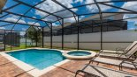 Villa rentals near Disney direct with owner, check out the Sunny pool deck with 4 sun loungers