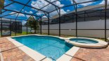 Increased privacy from fencing from rear neighbour - www.iwantavilla.com is the best in Orlando vacation Villa rentals