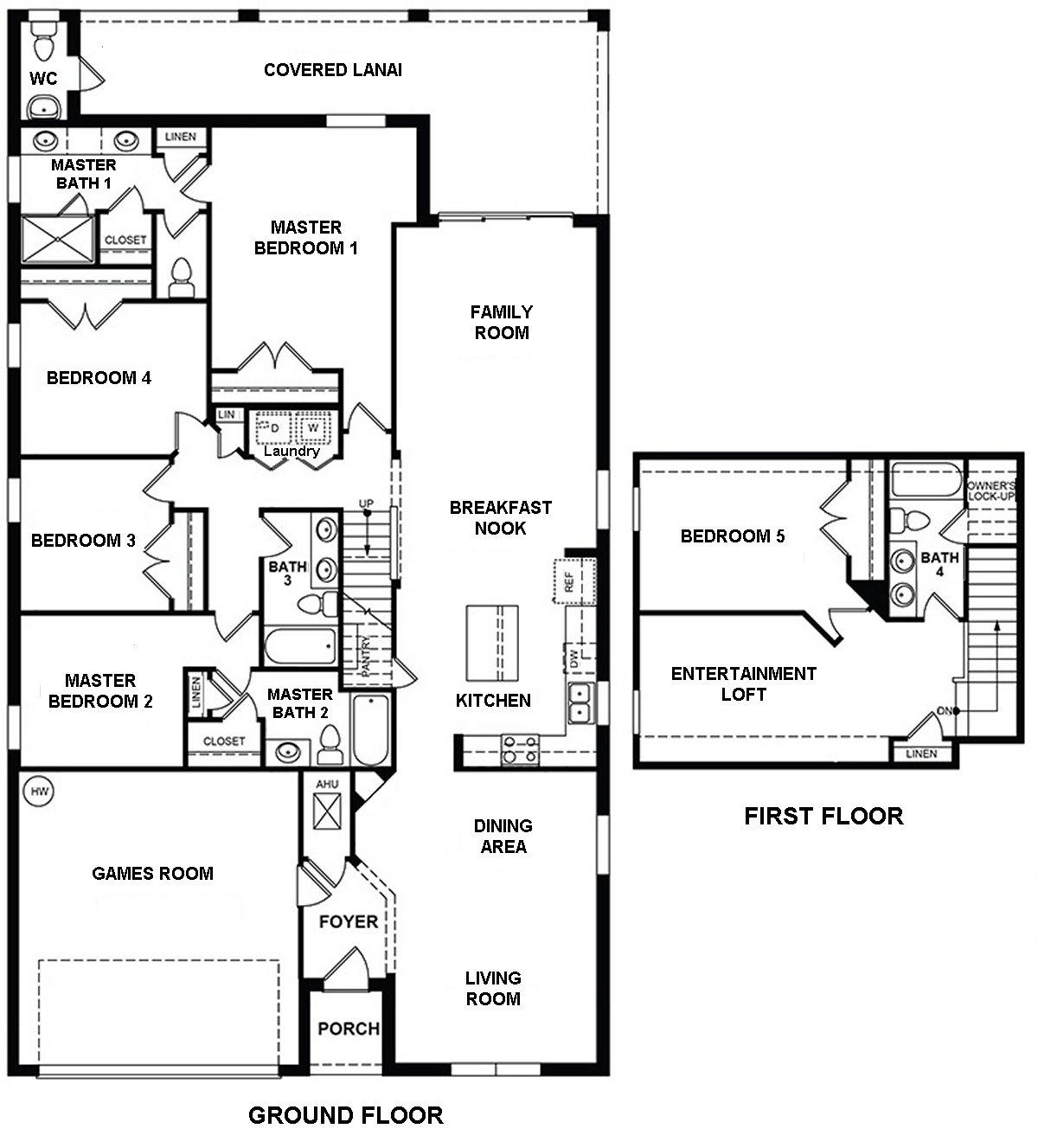 St Augustine 1 Floorplan