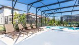 Orlando Villa for rent direct from owner, check out the Sunny pool deck with 4 sun loungers