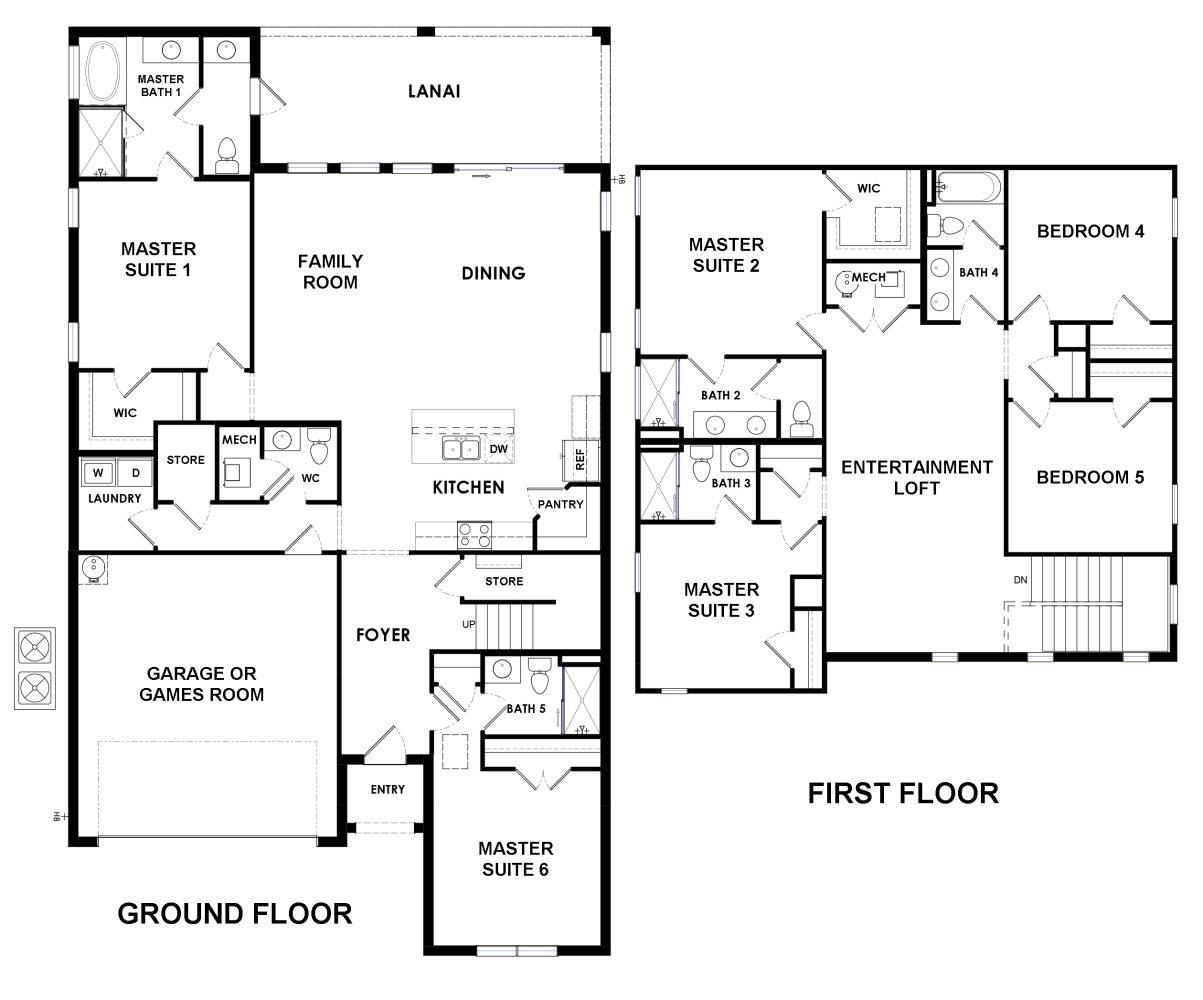Belize 1 Floorplan