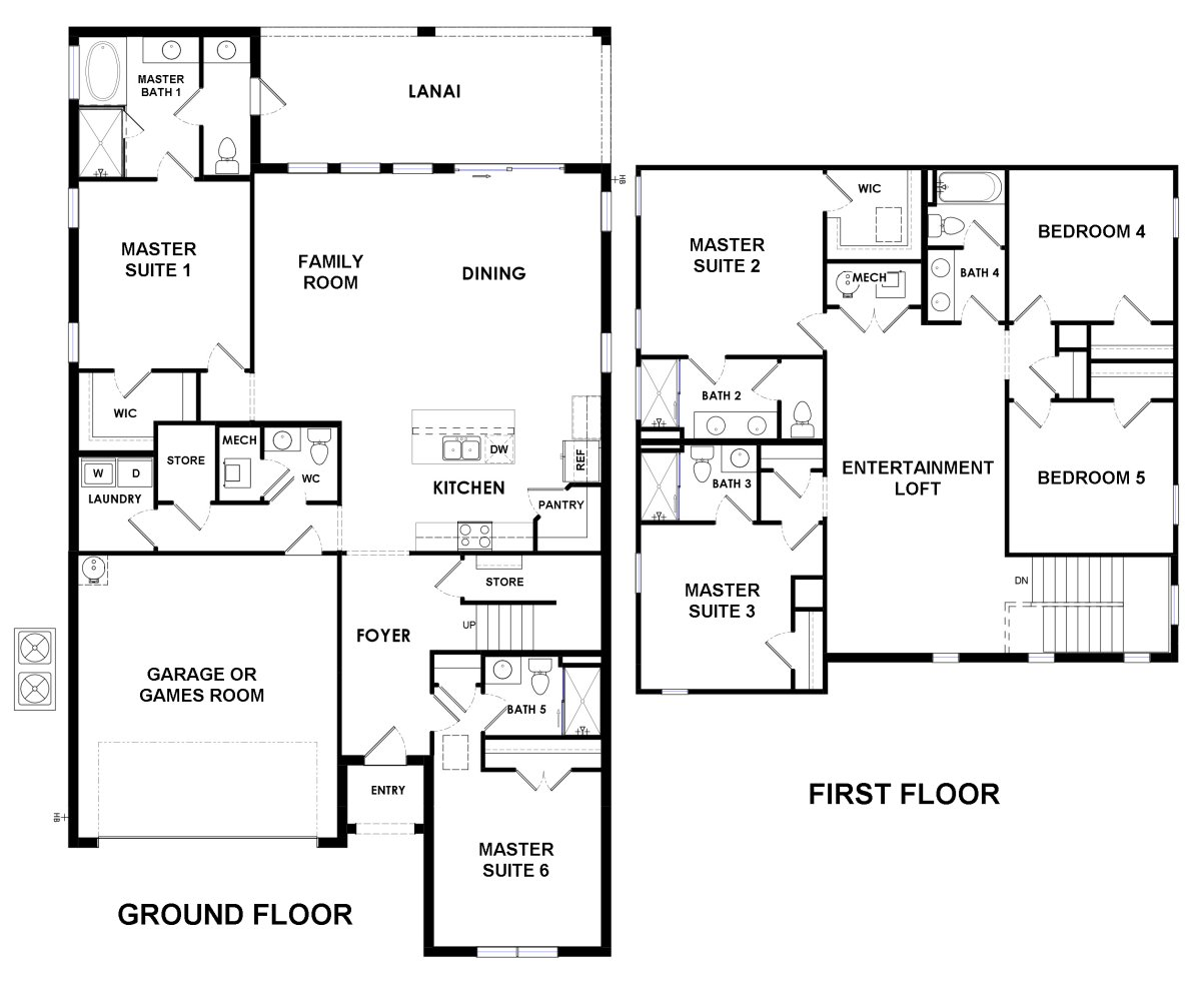Belize 1 Floorplan
