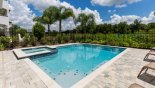 Orlando Villa for rent direct from owner, check out the Pool deck enjoys conservation views