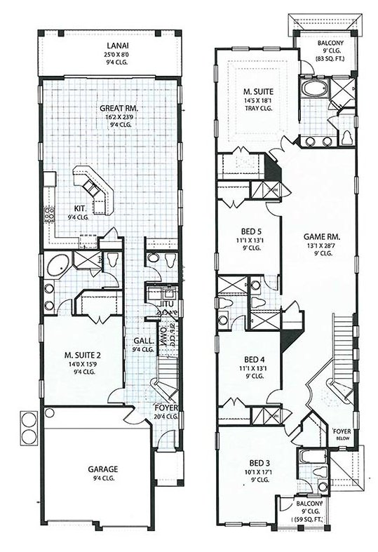 Crestview 7 Floorplan