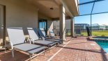 Spacious rental Solterra Resort Villa in Orlando complete with stunning Pool deck with 5 sun loungers