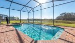 Hideaway 3 Villa rental near Disney with Sunny south-west facing pool with open pond views