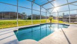 Spacious rental Highlands Reserve Villa in Orlando complete with stunning Large pool deck gets the sun all day