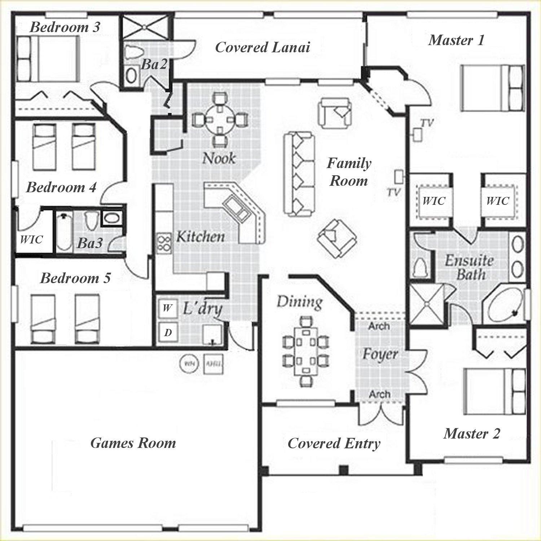 Dartmouth 1 Floorplan