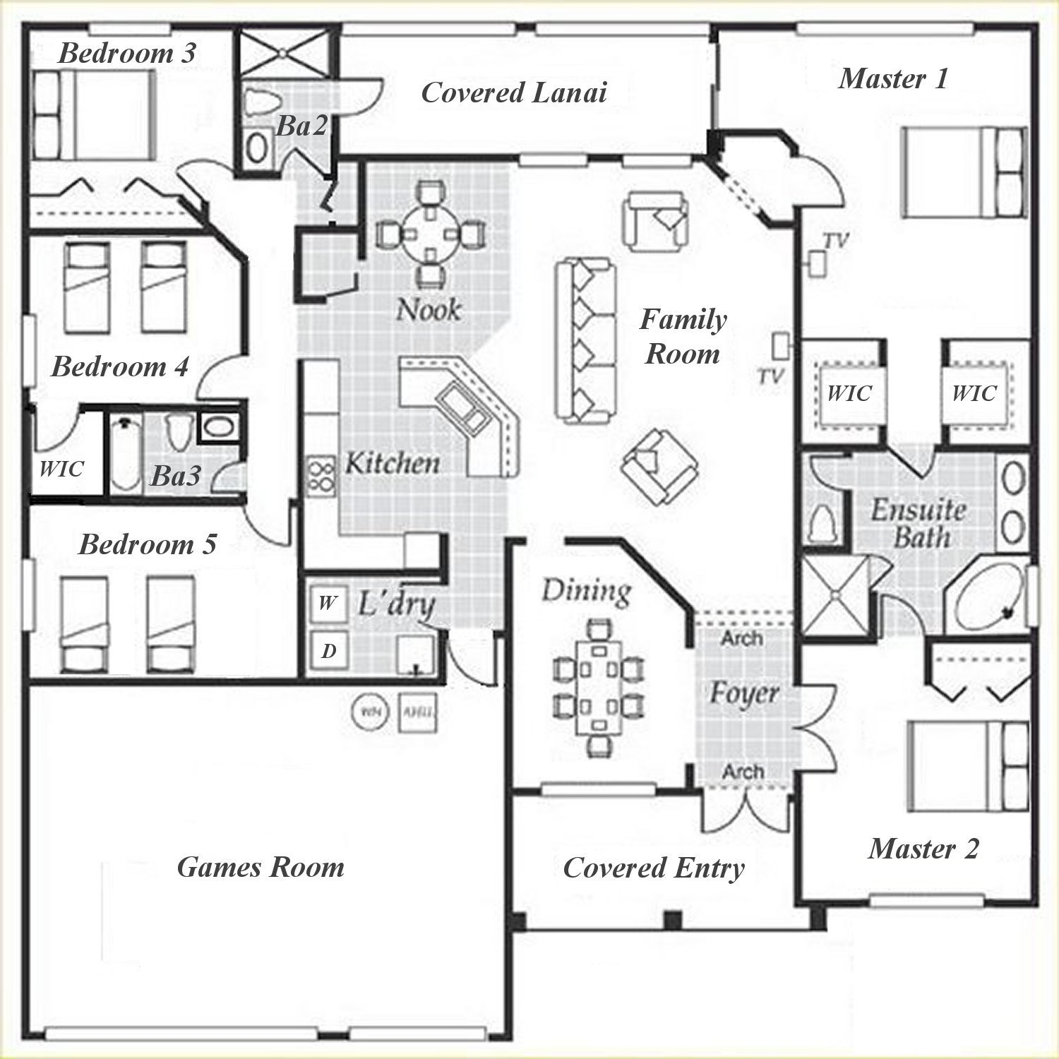 Dartmouth 1 Floorplan