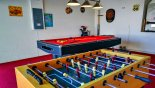 Villa rentals near Disney direct with owner, check out the Games room with Pool Table, Foosball, darts and large TV