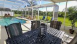 Enjoy outside dining from Santa Barbara 2 Villa for rent in Orlando