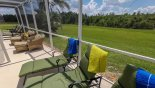 Villa rentals in Orlando, check out the Plenty of outside seating for everyone