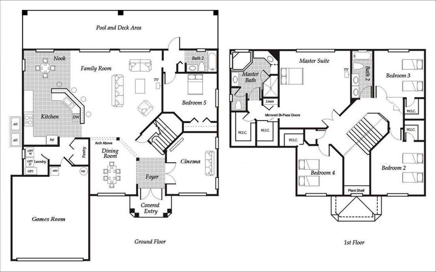 Santa Barbara 2 Floorplan