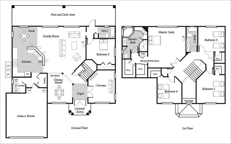 Santa Barbara 2 Floorplan
