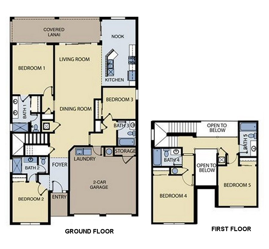 Spencer 1 Floorplan