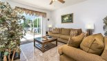 Family room with comfortable sofas - www.iwantavilla.com is your first choice of Villa rentals in Orlando direct with owner