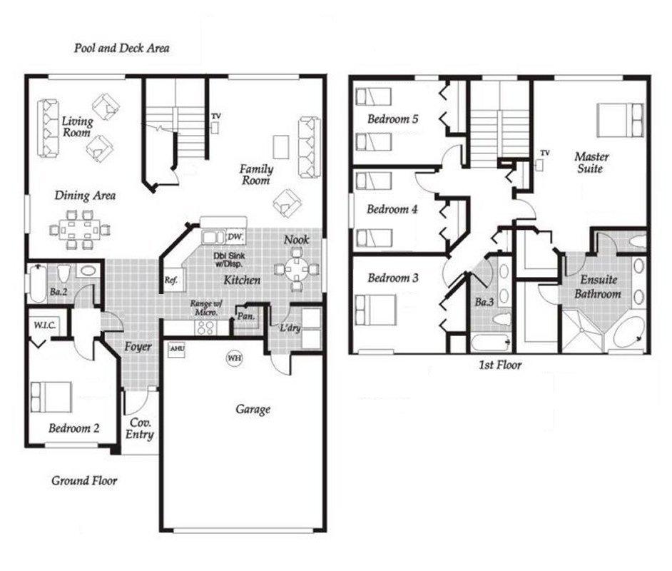 Monticello 4 Floorplan