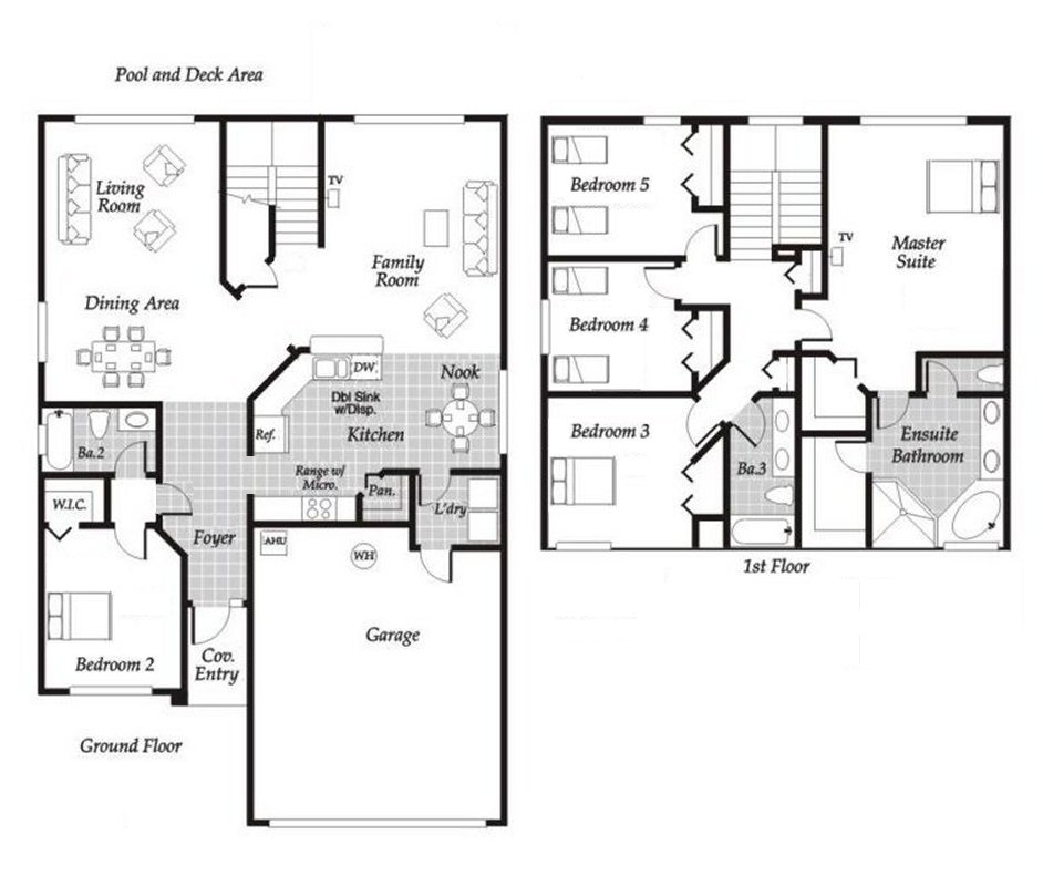 Monticello 4 Floorplan