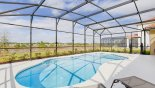 Cape Coral 2 Villa rental near Disney with West facing pool with conservation views