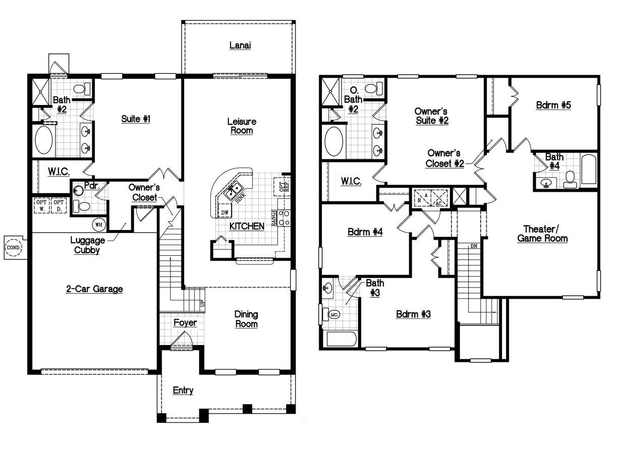 Bimini 2 Floorplan