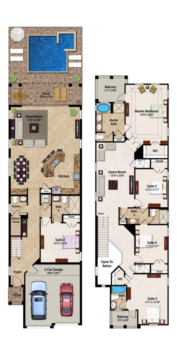 Fairfield 1 Floorplan