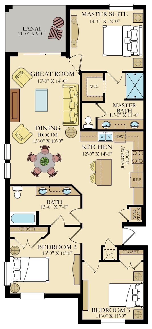 Sorrento 1 Floorplan