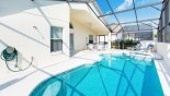 Orlando Villa for rent direct from owner, check out the Pool deck with 2 sun loungers