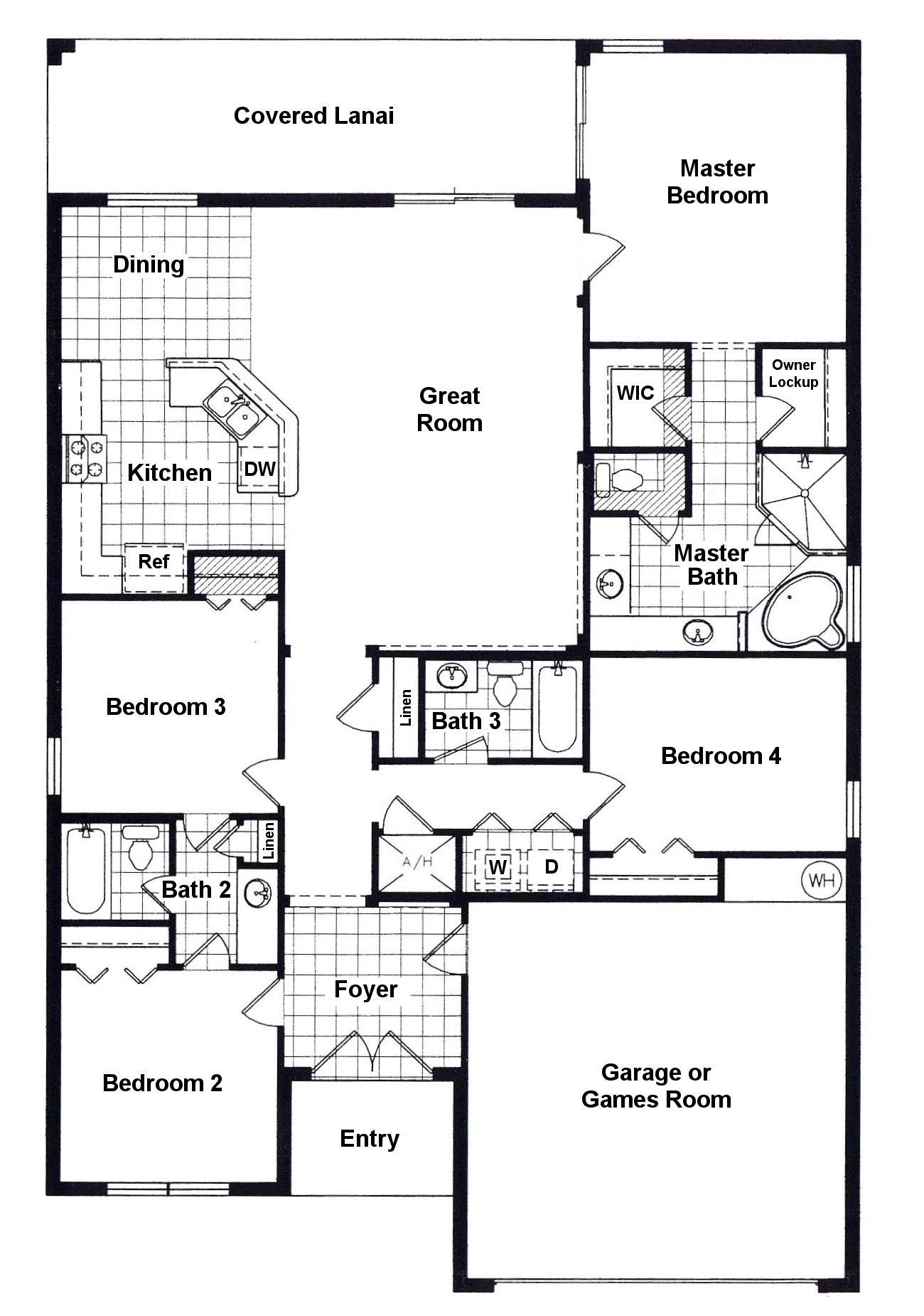 Keswick 1 Floorplan