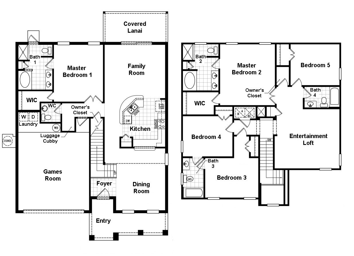 Bimini 4 Floorplan
