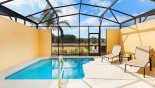 Townhouse rentals near Disney direct with owner, check out the South west facing pool with open views