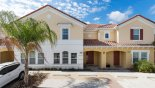 Spacious rental Solterra Resort Townhouse in Orlando complete with stunning View of townhouse from street