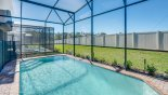 West facing pool with no rear neighbours from Lakeshore 3 Villa for rent in Orlando