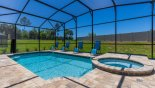Pie shaped plot ensures neighbours are not too close - www.iwantavilla.com is the best in Orlando vacation Villa rentals